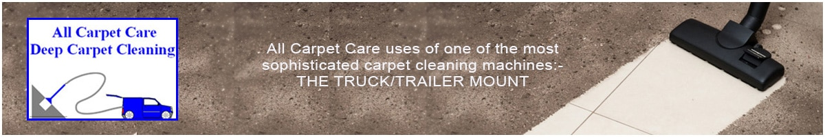 All Carpet Care Front Page Ad
